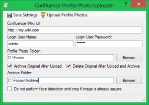 Confluence Profile Photo Uploader