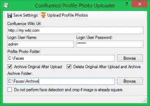 Confluence Profile Photo Uploader