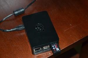 My Raspbery Pi running WordPress